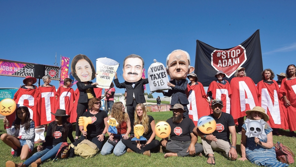 Protests against Adani Group in Australia