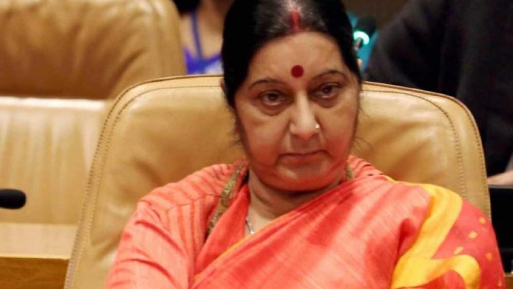 File photo of Sushma Swaraj