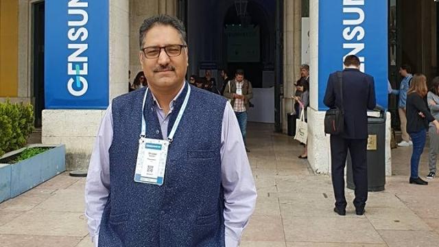 Late editor of Rising Kashmir, Shujaat Bukhari