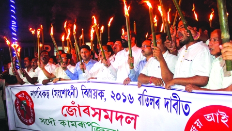 Assam: Gearing up for a massive confrontation