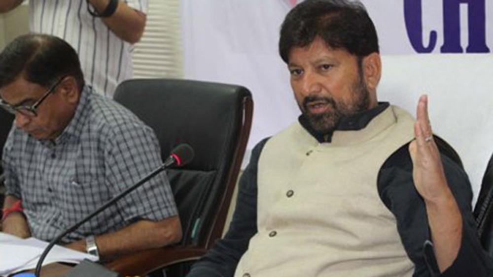 A file photo of BJP MLA Choudhary Lal Singh