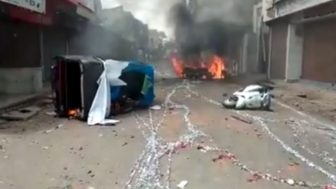 Clashes reported in  Shajapur, Madhya Pradesh on Eid-ul-Fitr