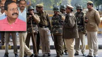 Uttar Pradesh police; Munna Bajrangi (inset)
