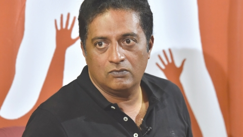 Why are the 'Hindutva' killers born poor, asks Prakash Raj