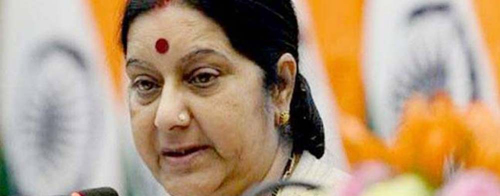 File photo of External Affairs Minister Sushma Swaraj (Representative image)