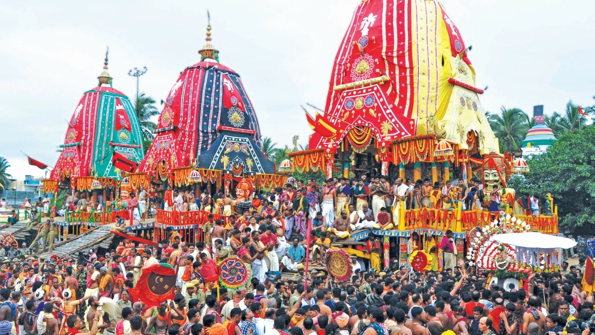 Puri's Jagannath : The lord of the universe & his tribal and Buddhist connections