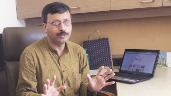 Pradyut Bora, the founder convenor of Bharatiya Janata Party's Information Technology Cell