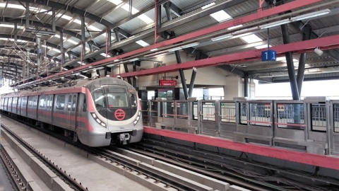 Shopper's corridor: Delhi Metro's pink line connecting Sarojini and Lajpat to open on Aug 6
