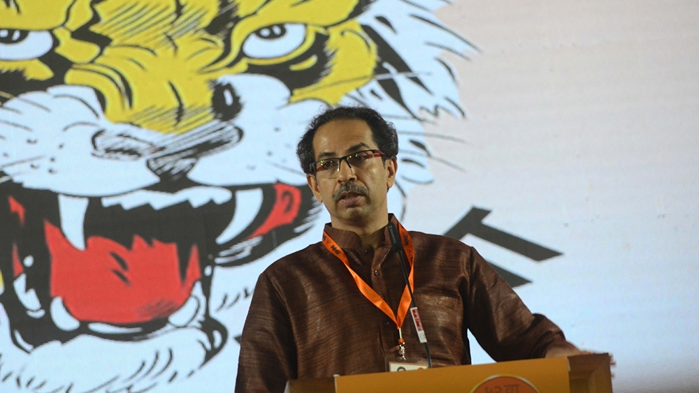 Shiv Sena chief Uddhav Thackeray (file photo)