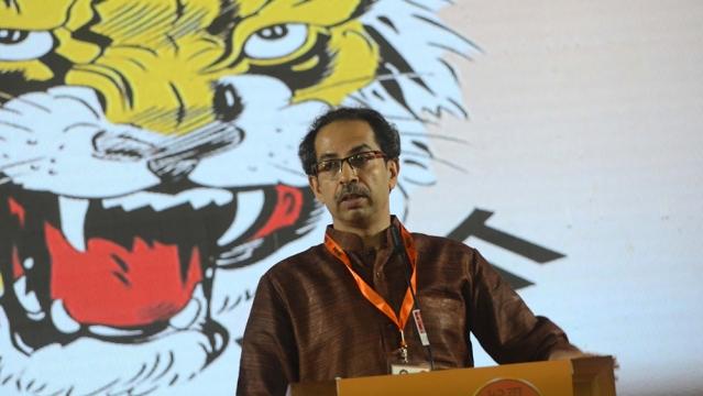 Shiv Sena chief Uddhav Thackeray (file photo)