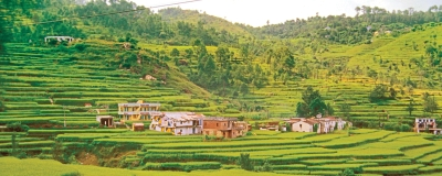 A view of the Kumaon hills