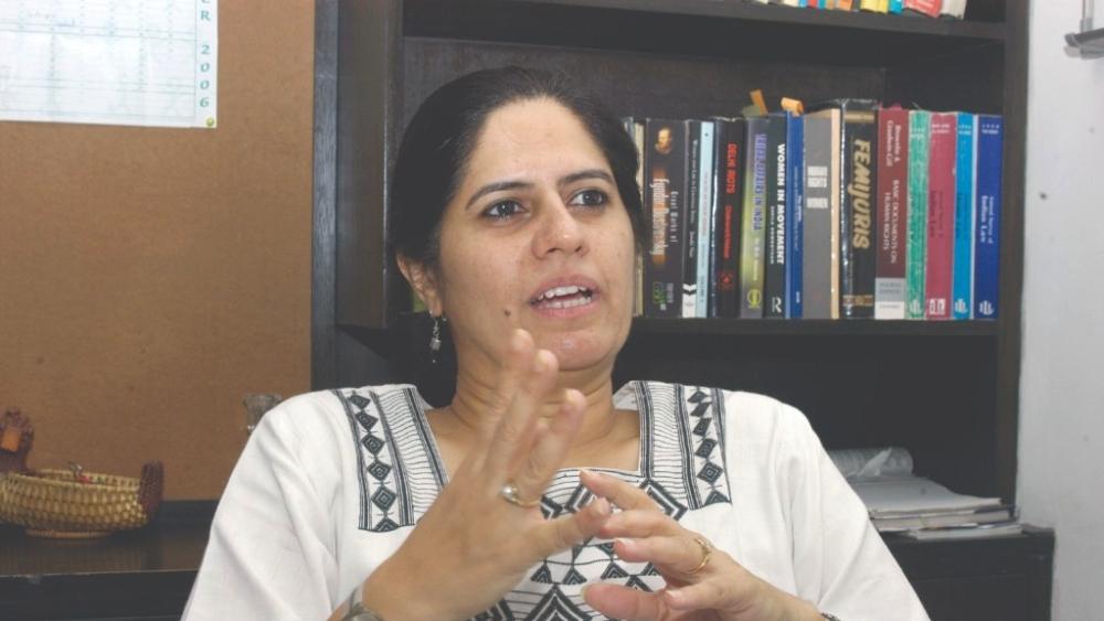 File photo of Supreme Court lawyer Vrinda Grover