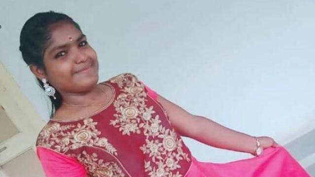 File photo of the 19-year-old Logeswari