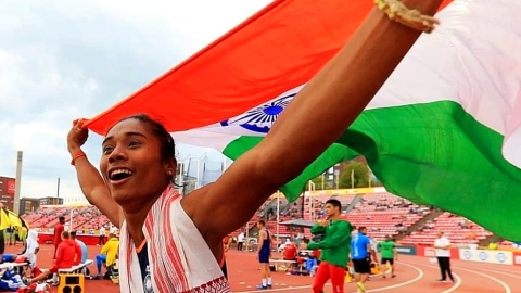 The dream run of Hima Das, the golden girl from Assam