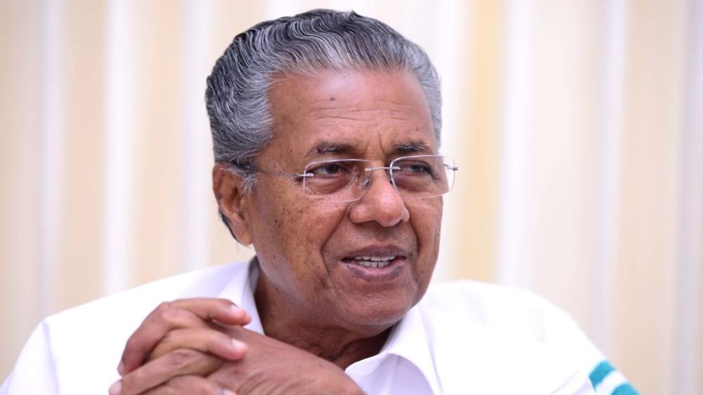 Chief Minister of Kerala Pinarayi Vijayan. A file photo