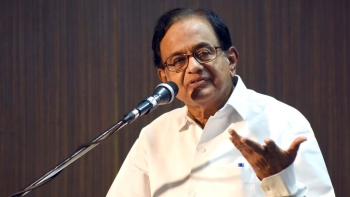 File photo of former Finance Minister P Chidambaram