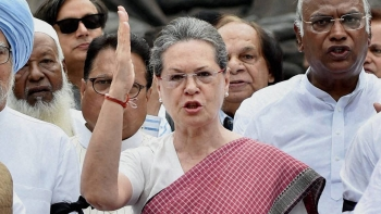UPA Chairperson and senior Congress leader Sonia Gandhi (file photo)