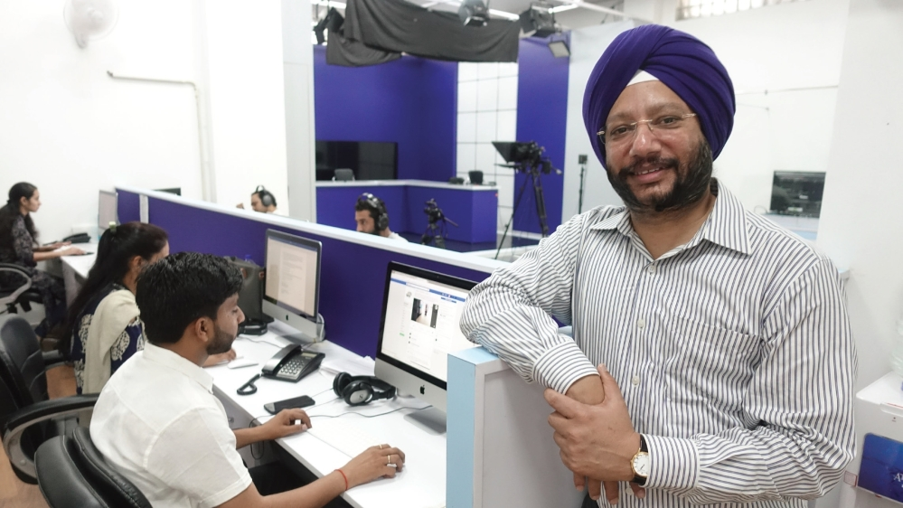 First CEO and Editor-in-Chief of Rajya Sabha TV Gurdeep Singh Sappal