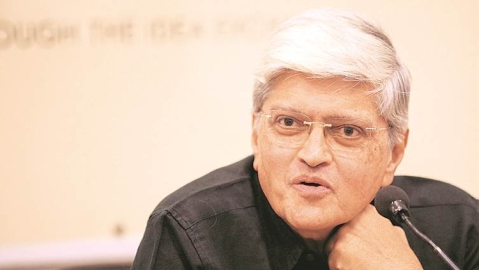 Gopalkrishna Gandhi to be honoured with Rajiv Gandhi National Sadbhavana Award