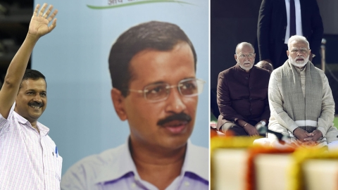 "Live: Supreme Court limits Delhi LG's role; ""big victory"" says Kejriwal"