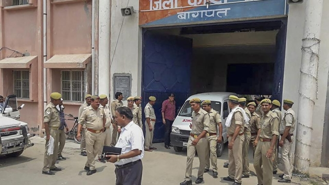 A file photo of Baghpat jail, where gangster Munna Bajrangi was gunned down