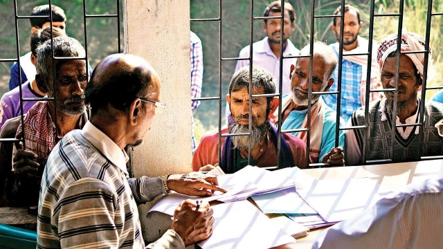 Nrc list tension rises in assam army deployed cm appeals for assam nrc centre thecheapjerseys Image collections