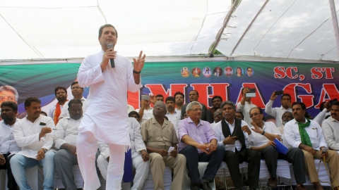 Rahul Gandhi: Modi government is anti-Dalit