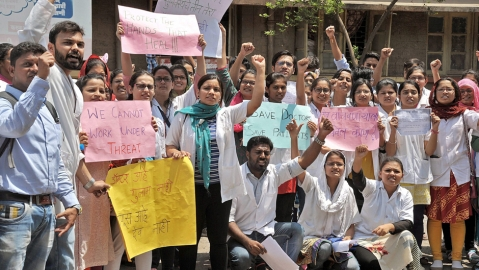 Bihar docs end strike after state agrees to demands; dozens of patients die