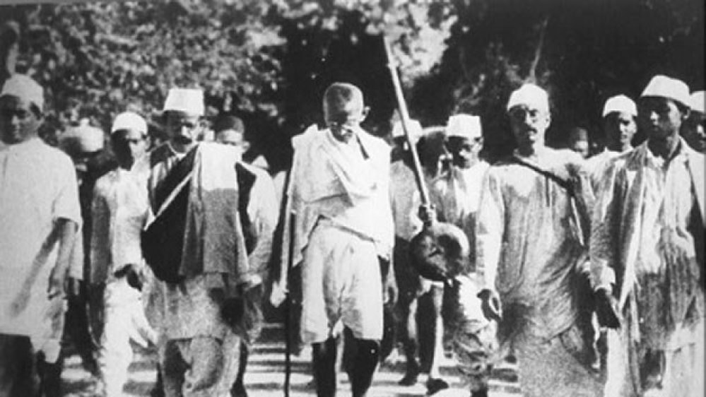 Mohandas Karamchand Gandhi launched the 'Quit India' movement