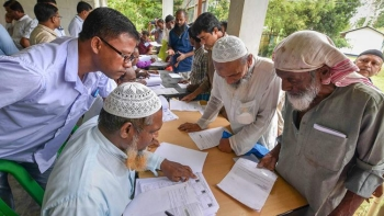 NRC list leaves out nearly 40 Lakh people from the list of citizenship
