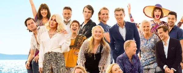 Poster of the film Mamma Mia! Here We Go Again