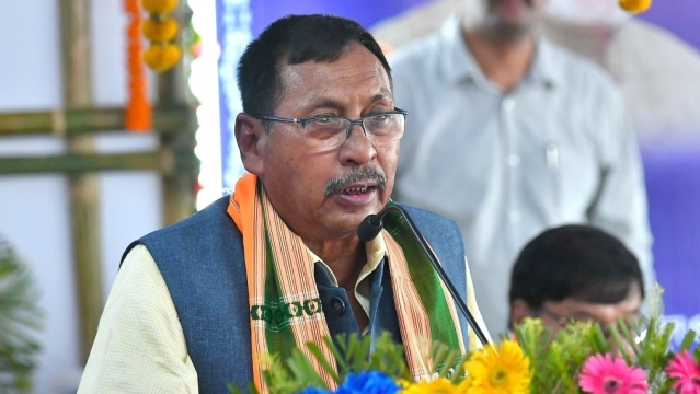 Union Minister of State for Railways Rajen Gohain (file photo)