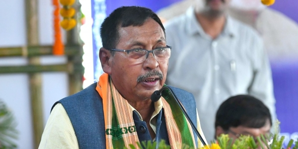 Union Minister of State for Railways Rajen Gohain (file photo)