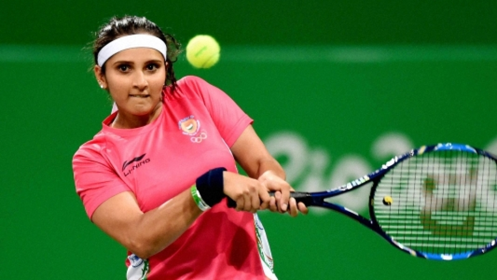 Sania Mirza. A file picture