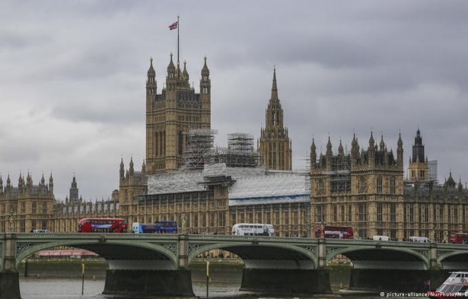 Parliament of the United Kingdom at Westminster Castle, London