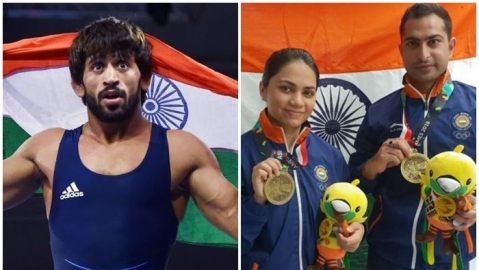 Asiad 2018: Bajrang wins 1st gold, Apurvi-Ravi take bronze on Day 1
