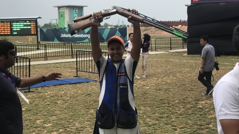 Asiad 2018: Shardul Vihan wins silver in men's double trap