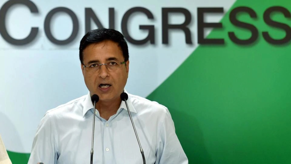 File photo of Congress spokesperson Randeep Singh Surjewala