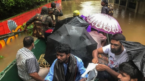 Kerala floods: From neck deep in water to a new Kerala