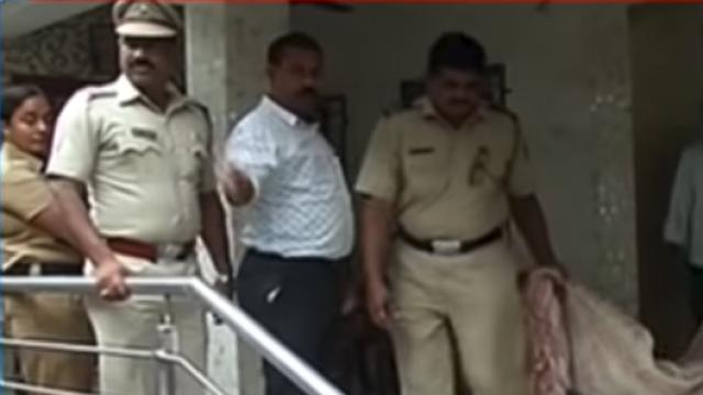 A screen grab of Maharashtra's Anti Terror Squad (ATS) team raiding the house of a Sanatan Sanstha worker on August 10