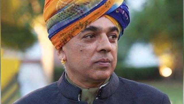 Manvendra Singh (file photo)