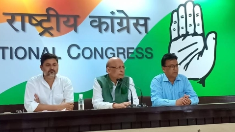 'It's in BJP's DNA to seek political mileage from martyrdom of soldiers': Congress