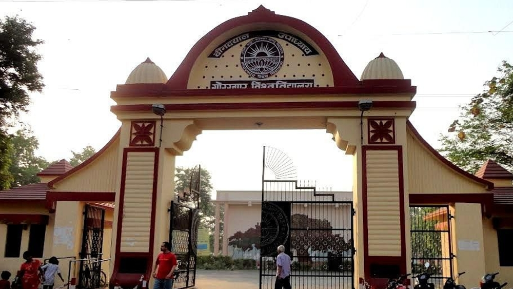 Deen Dayal Upadhyaya Gorakhpur University in Uttar Pradesh (file photo)
