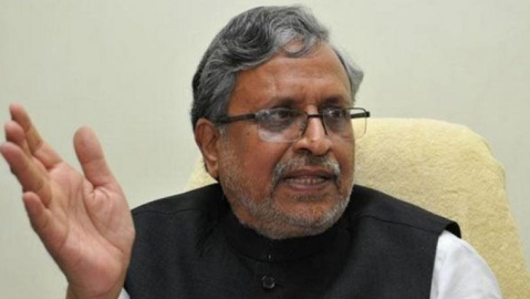 IT raids house of Sushil Modi's sister in Srijan scam