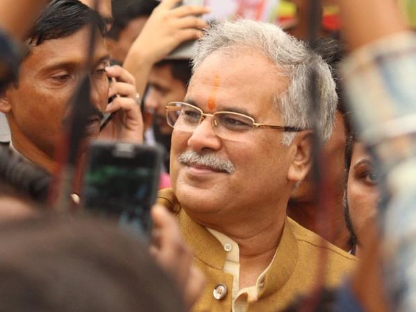 Chhattisgarh Congress President Bhupesh Baghel (file photo)