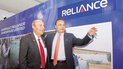 Rafale deal: Reliance  got contract first, Maha govt gave land later