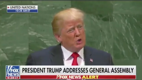WATCH: UNGA laughs at Trump's claim about his achievements in 2 years