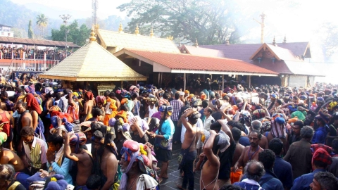 SC to hear on Friday plea of two women seeking security after they entered Sabarimala temple