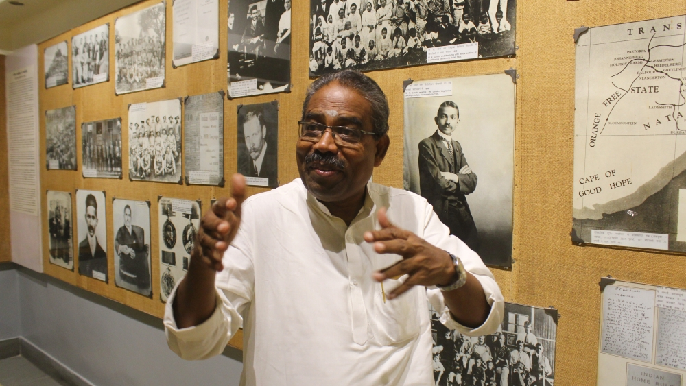 A Annamalai, director of the National Gandhi Museum in New Delhi