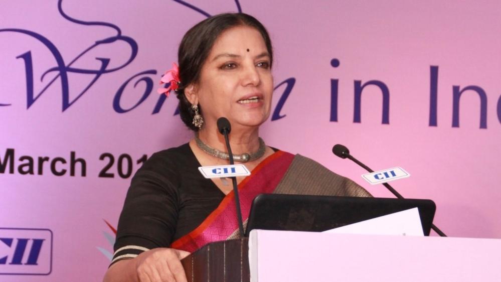 Actress Shabana Azmi (file photo)